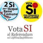 Verso i referendum