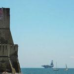 In rada a Napoli la portaerei americana George Bush