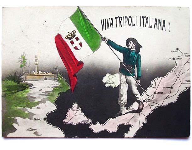 L'Italia in guerra per la ricolonizzazione della Libia