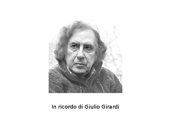 Una preghiera per Giulio Girardi