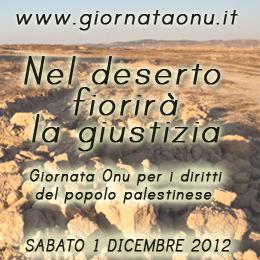 Giornata ONU per i diritti del popolo palestinese