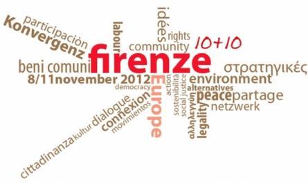 Firenze 10+10: Unire le forze contro la crisi e le politiche dell'Ue