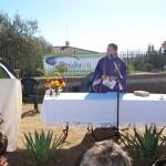 Eucaristia davanti all'installazione MUOS di Niscemi