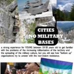 INTERNATIONAL SUMMER CAMP. 3-8 agosto per GIOVANI.CITIES NO MILITARY BASES