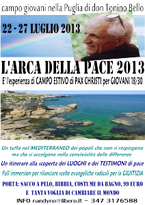 invito ARCA della PACE 2013