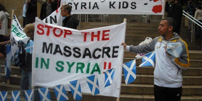 Comunicato stampa del 29/08/2013 di Pax Christi International su conflitto in Siria