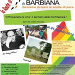 Route da Monte Sole a Barbiana