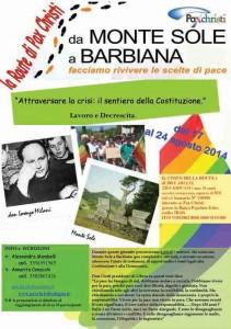 17-24 agosto 2014: Route da Monte Sole a Barbiana
