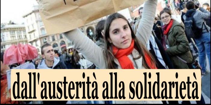 31 ottobre – 2 novembre: WEEK-END GIOVANI alla Casa. Tra austerità e solidarietà