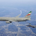 Boeing KC-767 Tanker Offloads Fuel to F-15E
