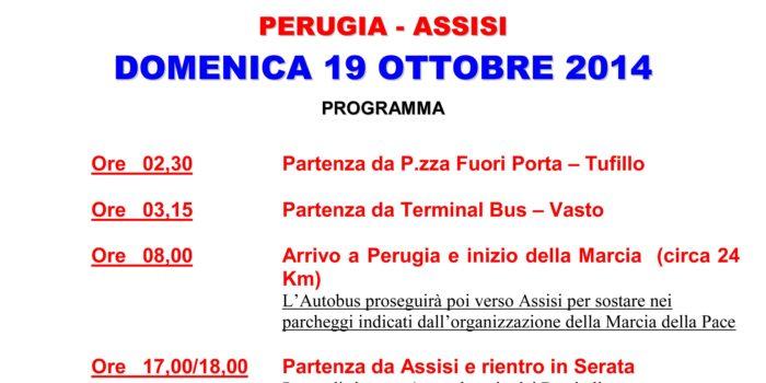 Marcia PERUGIA-ASSISI 19 ottobre 2014
