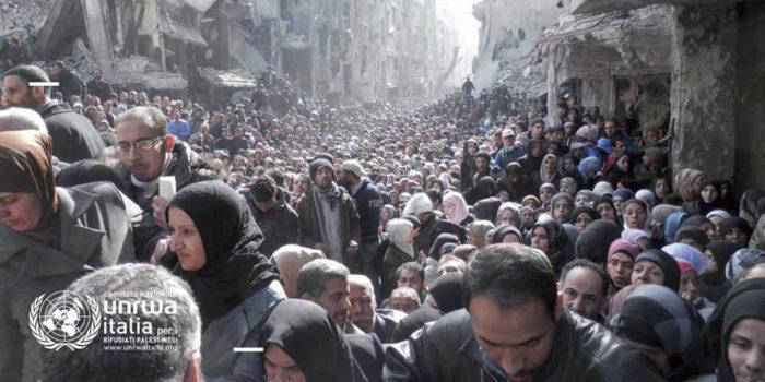 Il lungo viaggio della popolazione Palestinese rifugiata