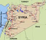 cartina della Siria