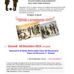 """18 Dicembre, Bologna, 1° incontro del ciclo """"Dio o mammona"""""""