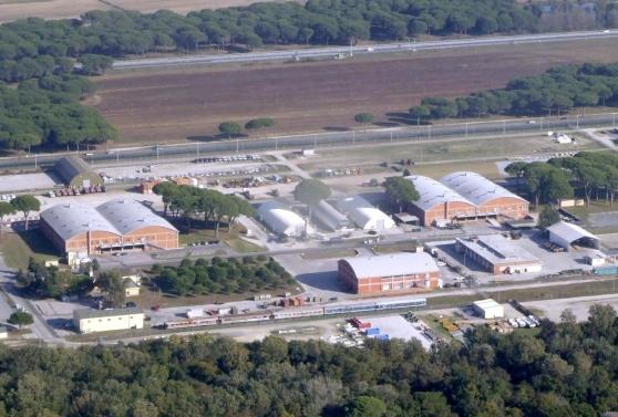 Enclave americana fra Pisa e Livorno: Camp Darby