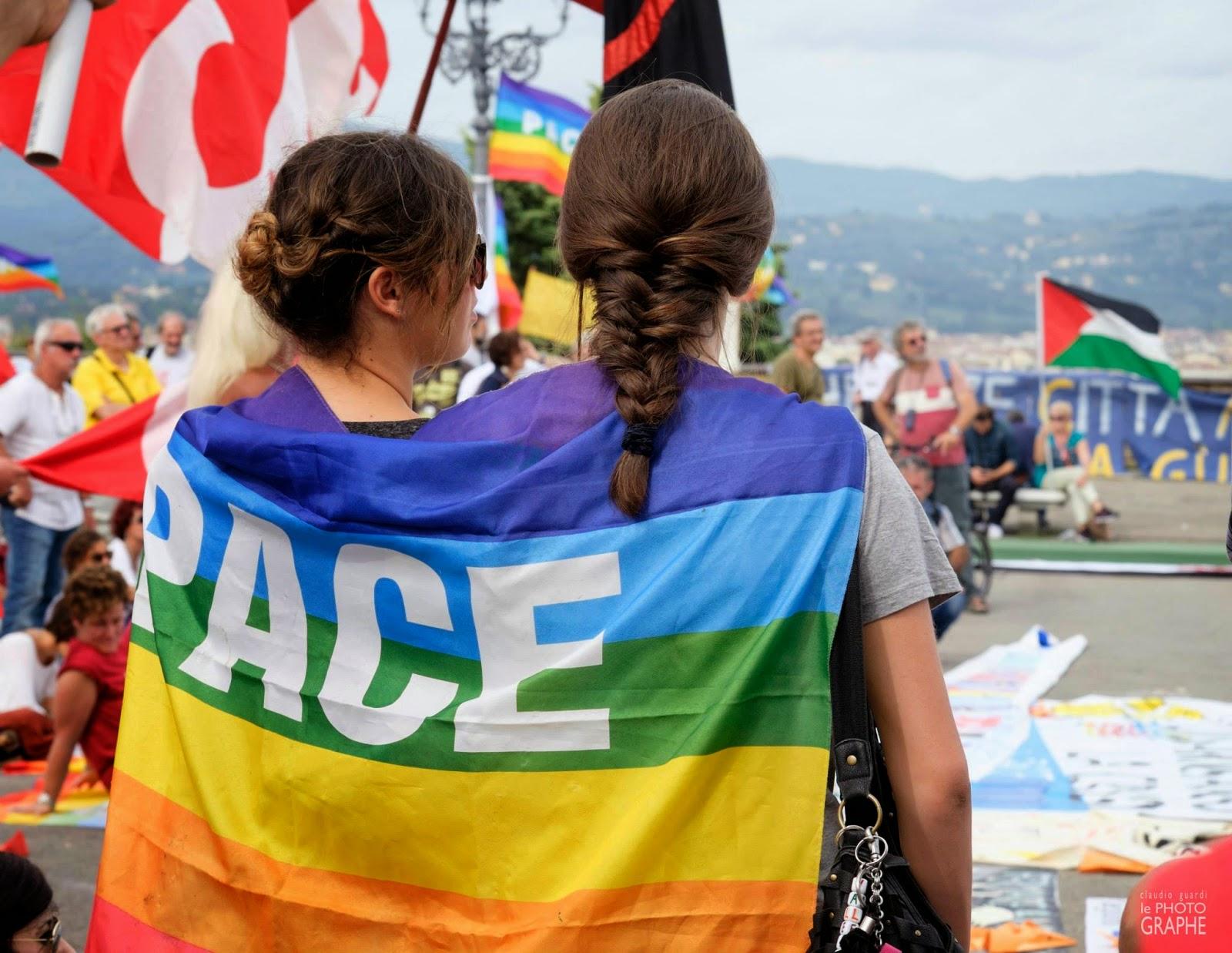 un passo per la pace