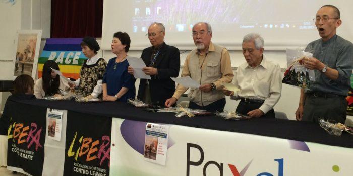 Punto Pace di Catania – La testimonianza dei sopravvissuti di Hiroshima