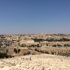 Veduta di Gerusalemme dal Monte degli Ulivi