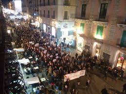 marcia per la pace a Catania 1.1.2016