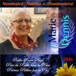 """Candidatura di Marie Dennis, co-presidente di Pax Christi International al """"Premio Pubblico della Pace"""""""