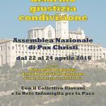 Misericordia è disarmo, giustizia, condivisione. Assemblea Nazionale Pax Christi Assisi 22/24 Aprile 2016
