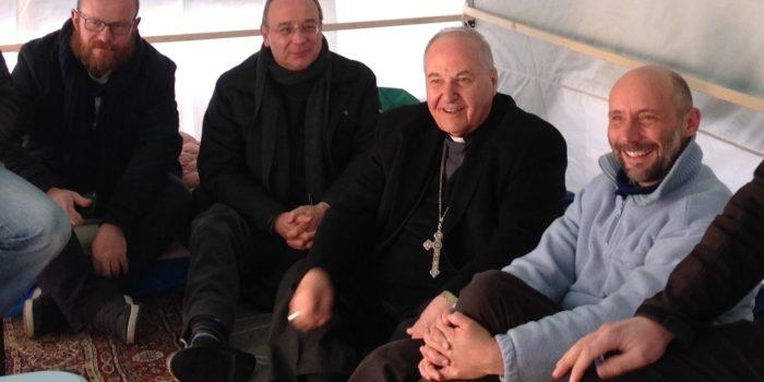 """Incontri con mons Warduni, Vescovo ausiliare di Baghdad: """"Basta vendere armi!"""""""