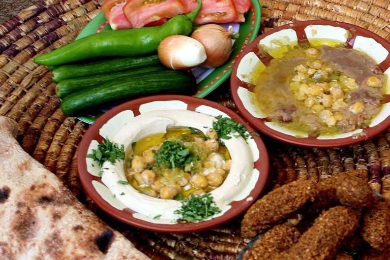 cibo palestinese