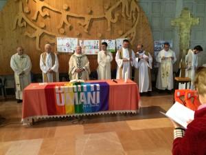 Celebrazione Eucaristica all'Assemblea annuale di Pax Christi, Assisi, 23-24 aprile 2016