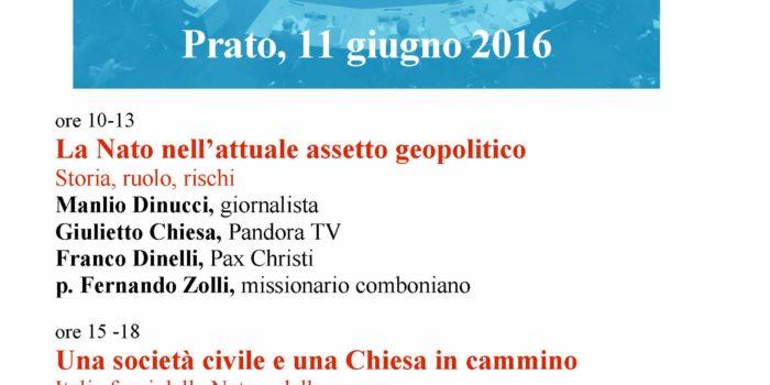 11 Giugno, Prato – Convegno sulla Nato
