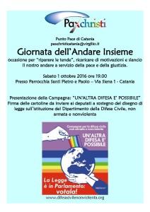 Giornata dell'Andare Insieme a Catania