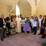 3° incontro mondiale dei Movimenti Popolari con papa Francesco Roma 5 novembre 2016