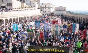 Da Perugia ad Assisi contro l'indifferenza, per la pace