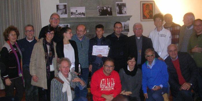 """Premiazione della Iª edizione del Concorso di scrittura """"La Pace si scrive"""""""