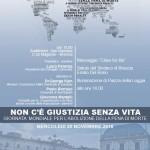 30 Novembre, Brescia – Non c'è giustizia senza vita