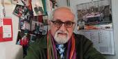 Padre Alex Zanotelli, direttore di Mosaico di Pace