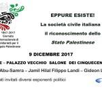 EPPURE ESISTE! La Società Civile Italiana e il riconoscimento dello Stato Palestinese