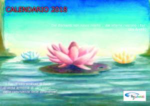 Copertina del calendario 2018