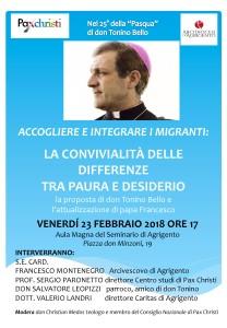 convegno ad Agrigento 23 febbraio
