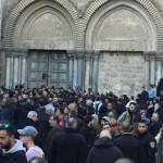 Gerusalemme: Lo sciopero dei Patriarchi