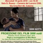 """18 Aprile, Catania – manifestazione per la """"Giornata Internazionale dei Prigionieri Palestinesi"""""""