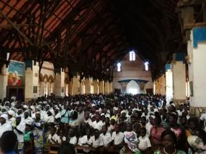 Celebrazione eucaristica a Butembo