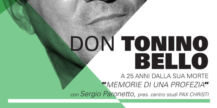 28 Maggio, Scandiano (RE) – Don Tonino: Memorie di una profezia