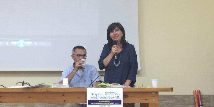 Incontro a Catania con don Nandino Capovilla  e Betta Tusset