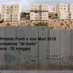 Il Premio Ponti e non Muri all'ASSOCIAZIONE AL QUDS di Padova