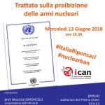 Punto Pace Bisceglie – Trattato sulla proibizione delle armi nucleari