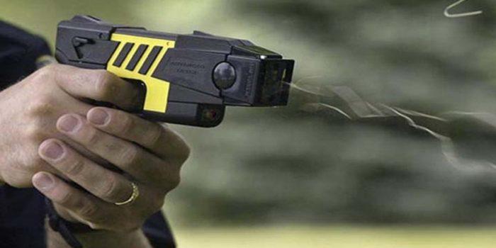 No alla pistola taser