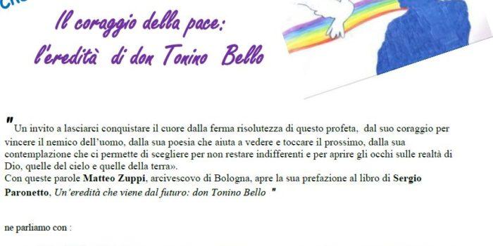 30 ottobre, Bologna – Il coraggio della pace: l'eredità di don Tonino