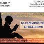 7 Novembre, Bologna – Io cammino tra le religioni