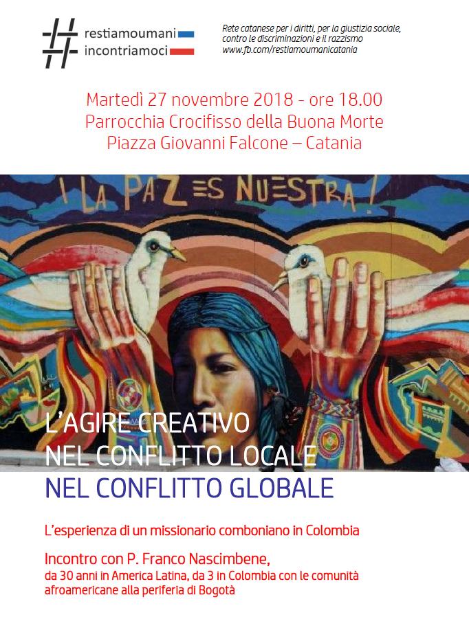 Incontro con il comboniano padre Franco Nascimbene a Catania