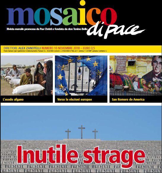Mosaico di Pace – O con il decreto sicurezza o con il Vangelo